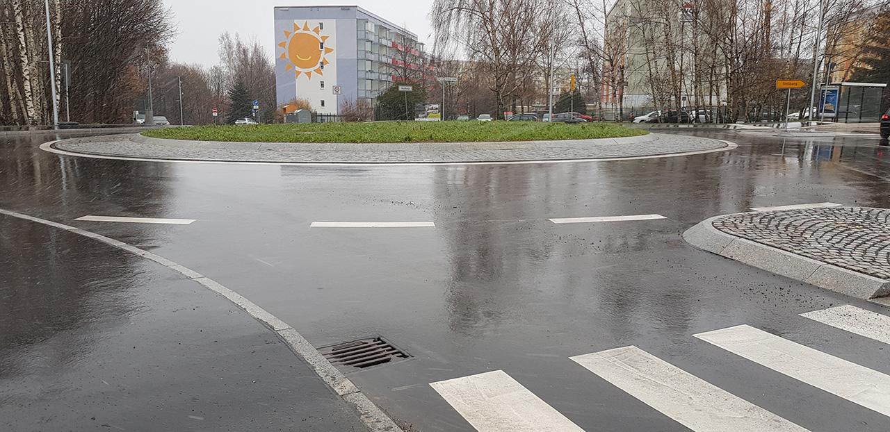 Chemnitz-Stollberger-Strasse-Kreisverkehr
