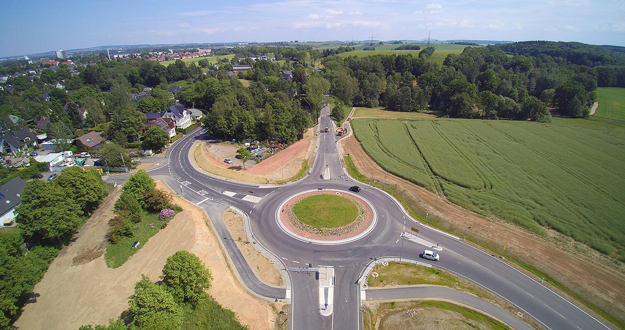 Kreisverkehr-Neefestraße